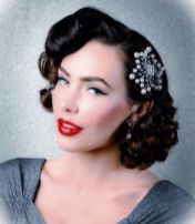 Breathtaking vintage rockabilly hairstyle ideas 79