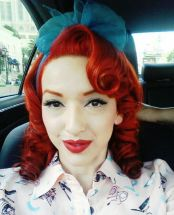 Breathtaking vintage rockabilly hairstyle ideas 8