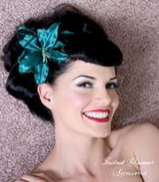 Breathtaking vintage rockabilly hairstyle ideas 88