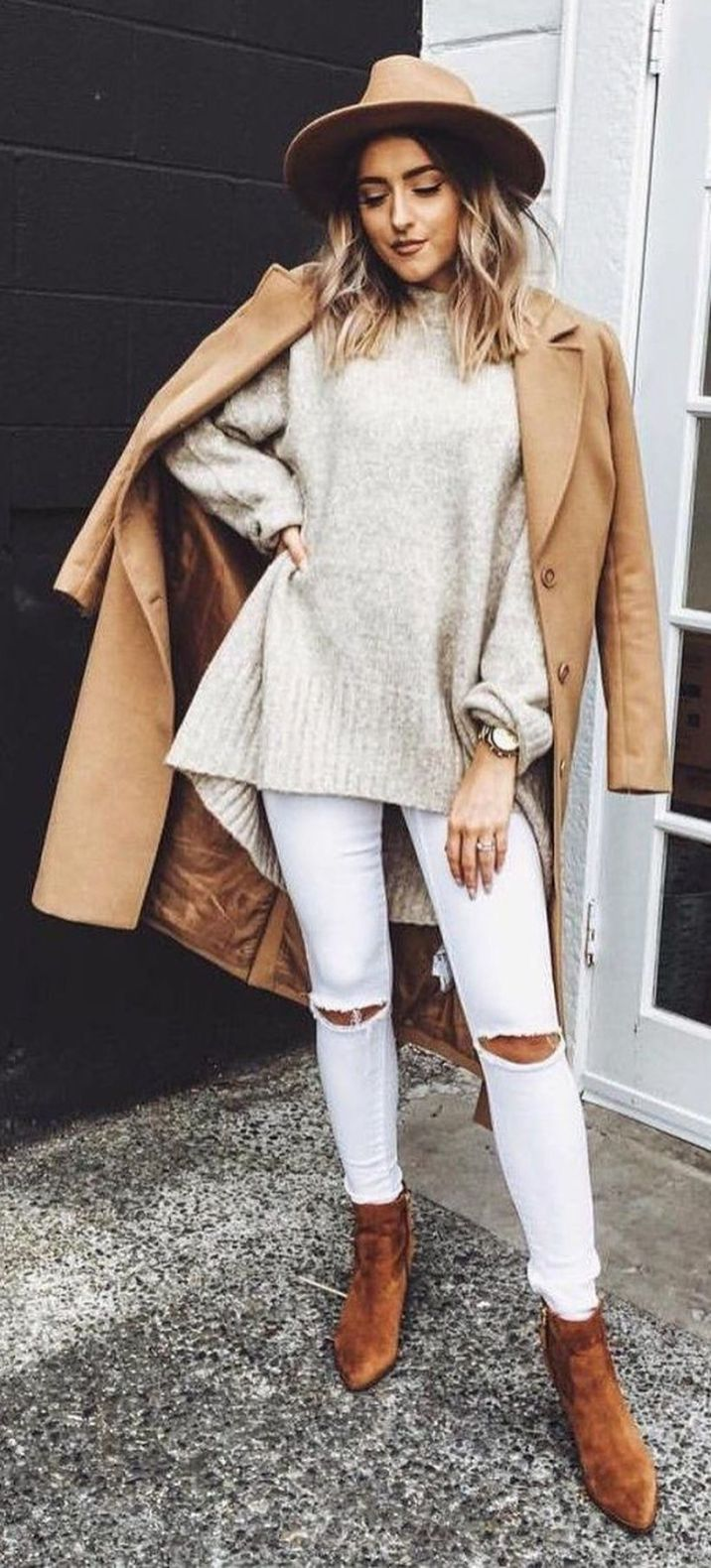 90 Wonderful Casual Fall Fashions Trend Inspirations 2017 ...