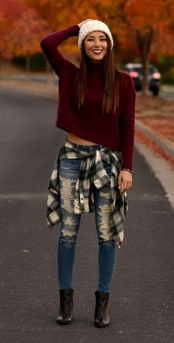 Casual fall fashions trend inspirations 2017 33