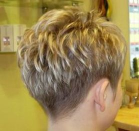 Cool back view undercut pixie haircut hairstyle ideas 37