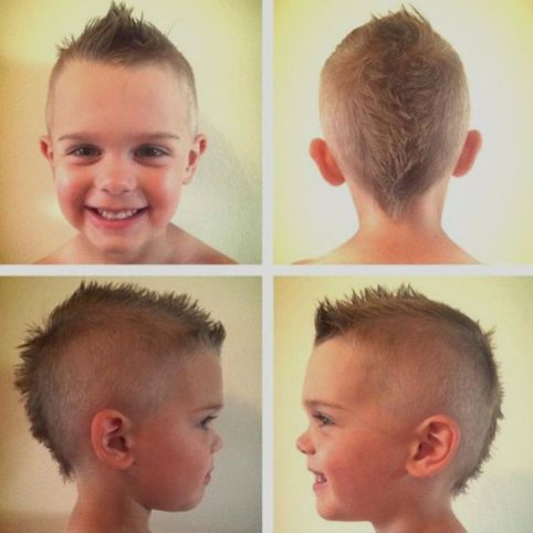 Cool kids & boys mohawk haircut hairstyle ideas 1