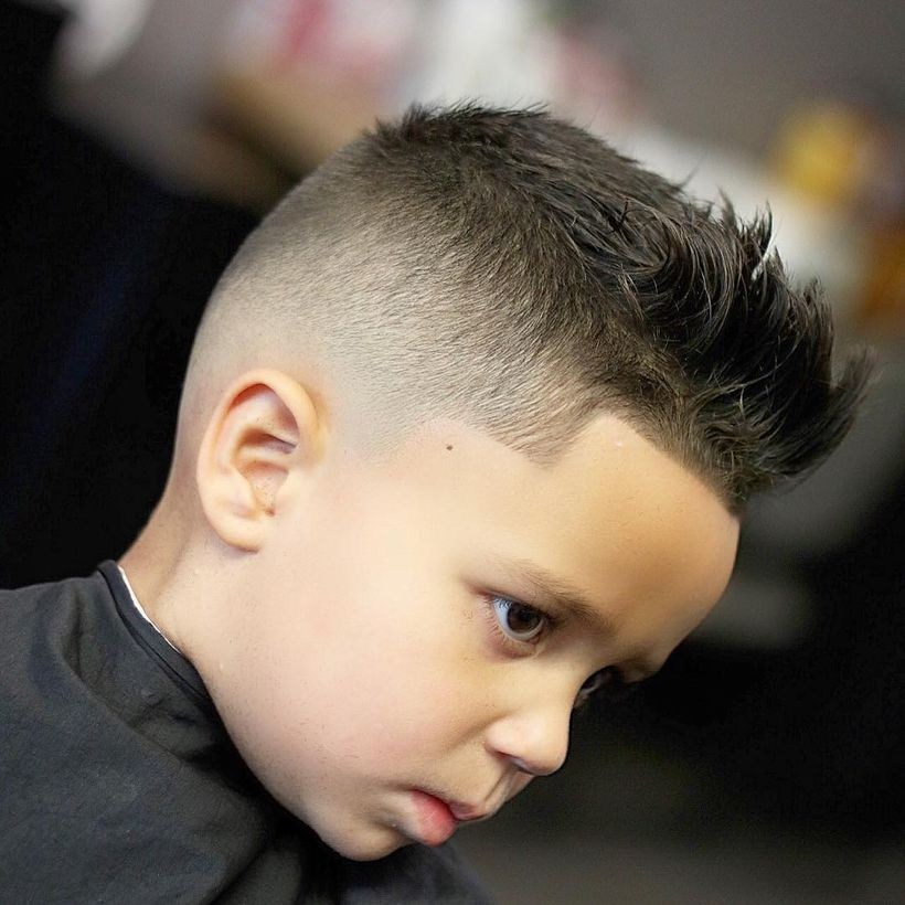 60 Awesome Cool Kids and Boys Mohawk Haircut Ideas , Fashion