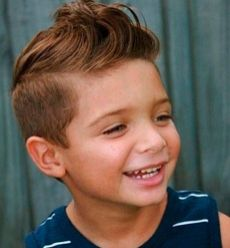 Cool kids & boys mohawk haircut hairstyle ideas 2
