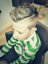 Cool kids & boys mohawk haircut hairstyle ideas 38