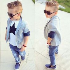 Cool kids & boys mohawk haircut hairstyle ideas 42