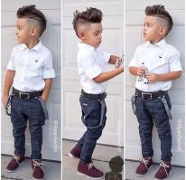 Cool kids & boys mohawk haircut hairstyle ideas 45