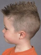 Cool kids & boys mohawk haircut hairstyle ideas 55