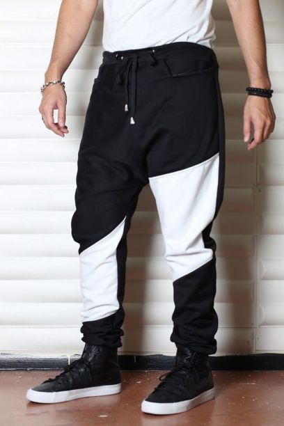 Cool mens joggers outfit ideas 1