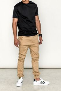 Cool mens joggers outfit ideas 21