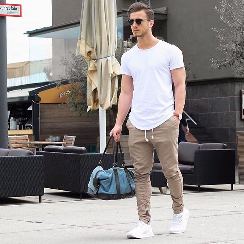 Cool mens joggers outfit ideas 3