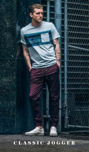 Cool mens joggers outfit ideas 9