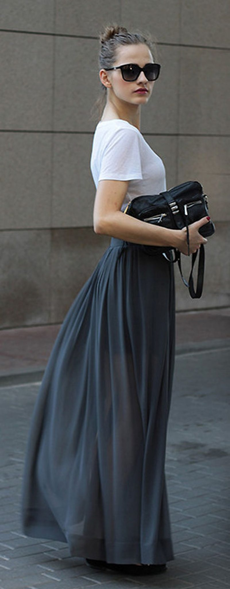 Cool tshirt and skirt for everyday outfits 37