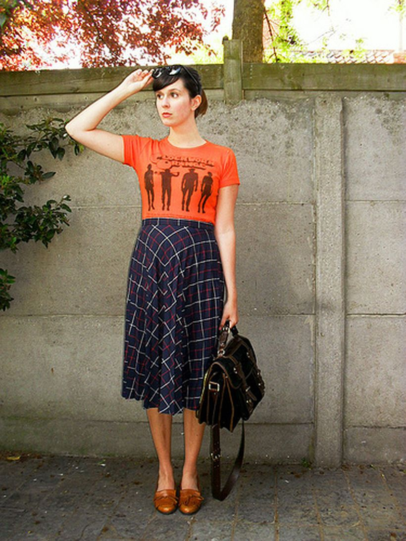 Cool tshirt and skirt for everyday outfits 44