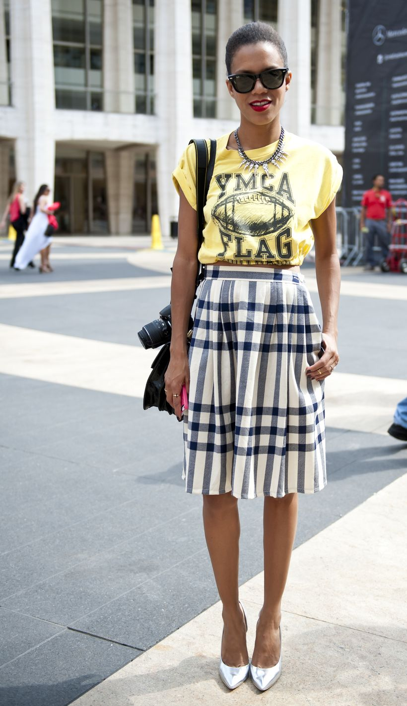 Cool tshirt and skirt for everyday outfits 45