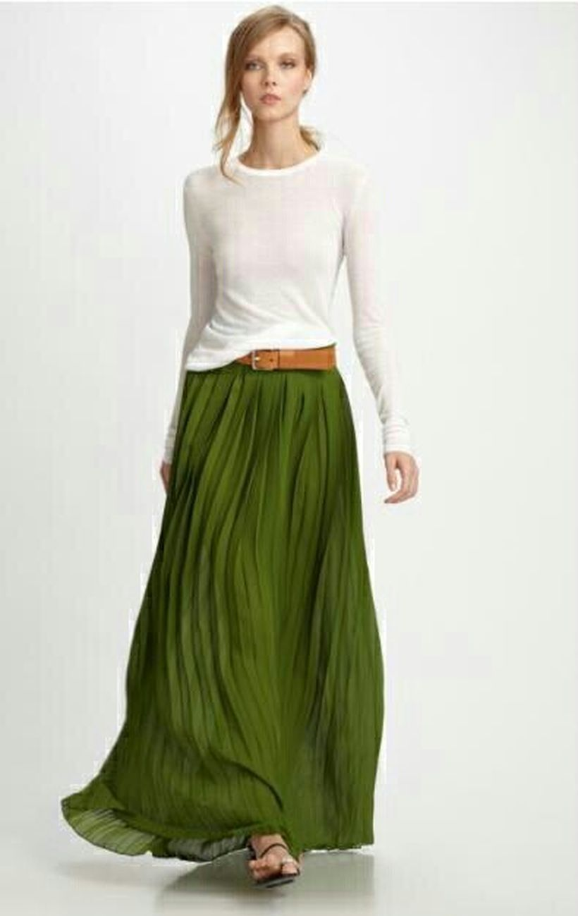 Cool tshirt and skirt for everyday outfits 47