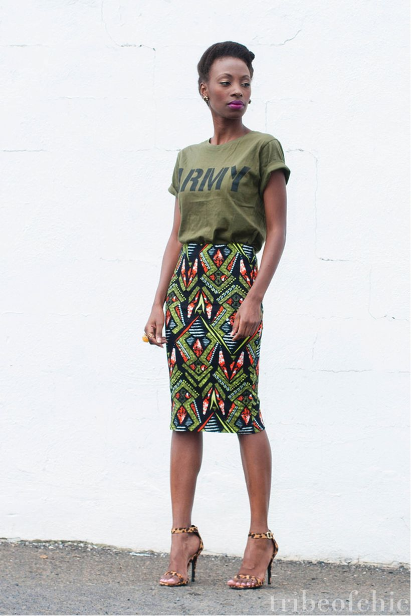 Cool tshirt and skirt for everyday outfits 58