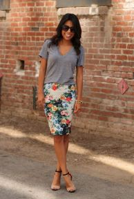 Cool tshirt and skirt for everyday outfits 62