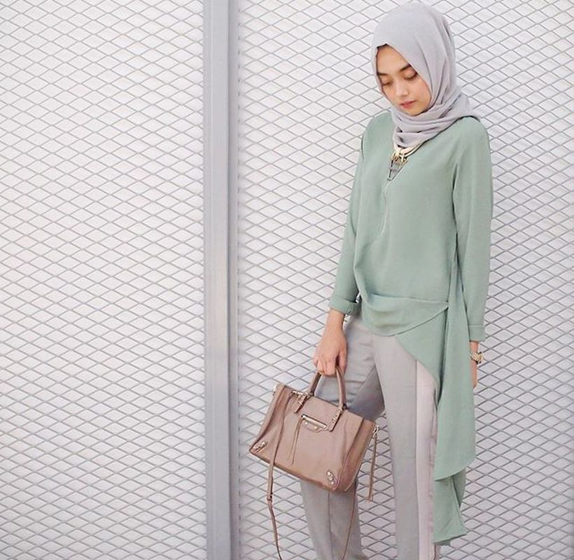 Elegant muslim outift ideas for eid mubarak 16