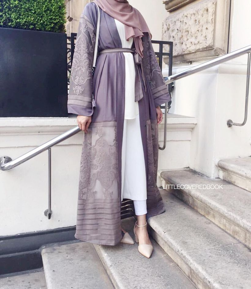 Elegant muslim outift ideas for eid mubarak 20