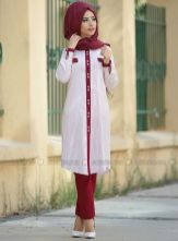 Elegant muslim outift ideas for eid mubarak 27