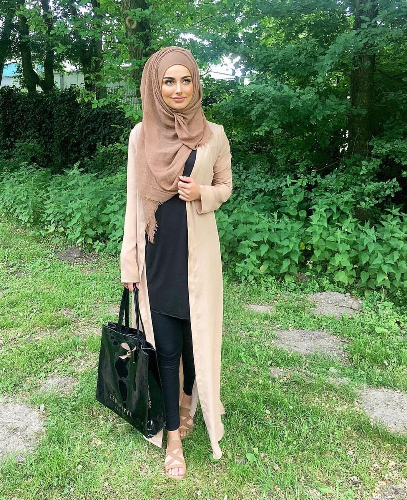 Elegant muslim outift ideas for eid mubarak 32