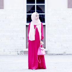 Elegant muslim outift ideas for eid mubarak 5