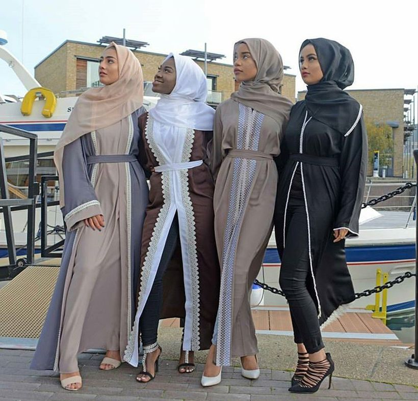Elegant muslim outift ideas for eid mubarak 58