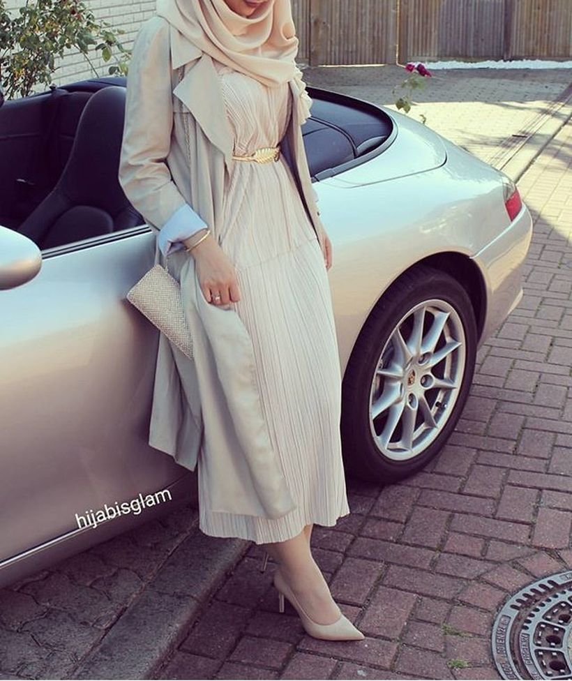 Elegant muslim outift ideas for eid mubarak 61