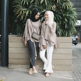 Elegant muslim outift ideas for eid mubarak 67