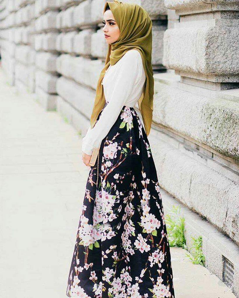 Elegant muslim outift ideas for eid mubarak 69