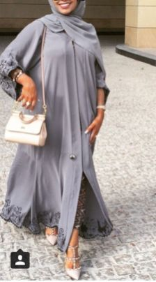 Elegant muslim outift ideas for eid mubarak 73