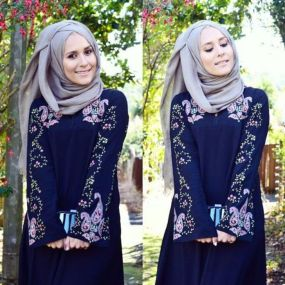 Elegant muslim outift ideas for eid mubarak 9
