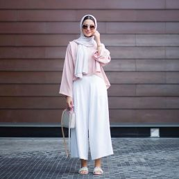 Elegant muslim outift ideas for eid mubarak 92
