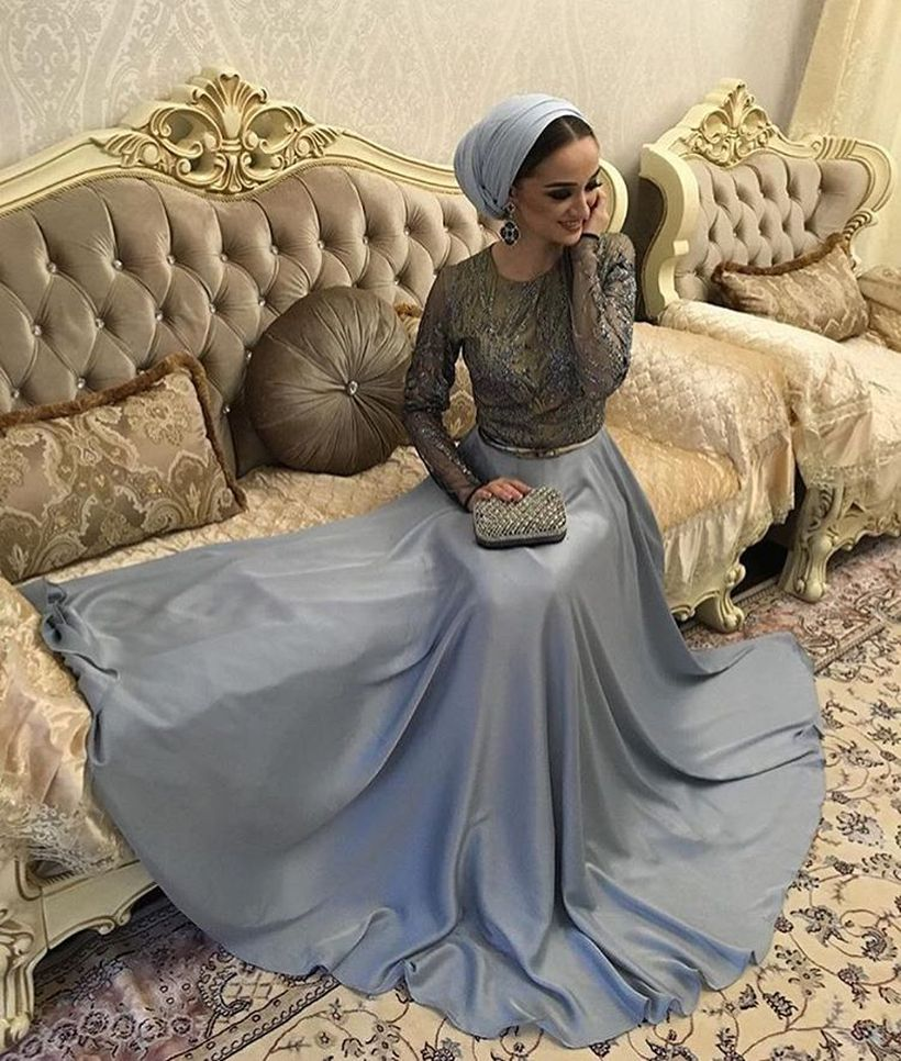 Elegant muslim outift ideas for eid mubarak 93