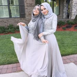 Elegant muslim outift ideas for eid mubarak 95