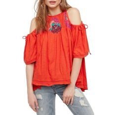 Fabulous boho open shoulder outfits ideas 16