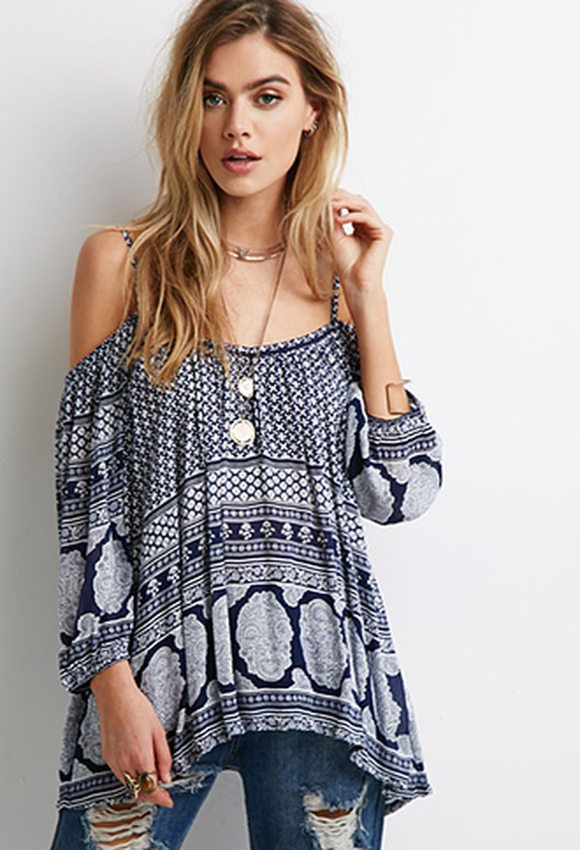 Fabulous boho open shoulder outfits ideas 55