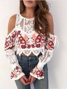 Fabulous boho open shoulder outfits ideas 6