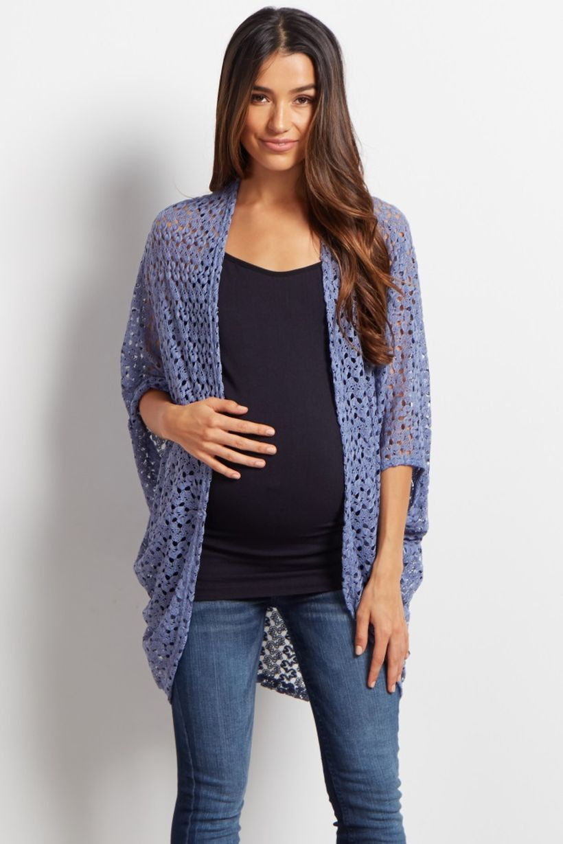 Fashionable maternity fashions outfits ideas 32