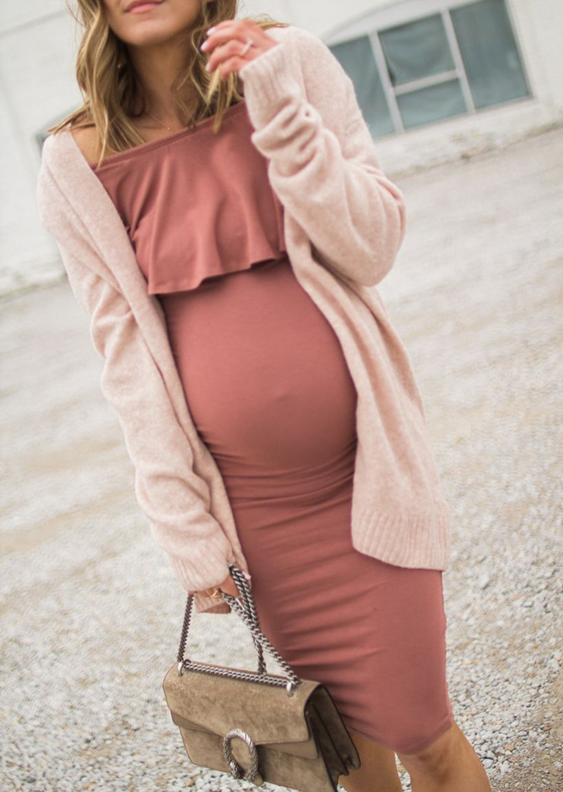 Fashionable maternity fashions outfits ideas 90