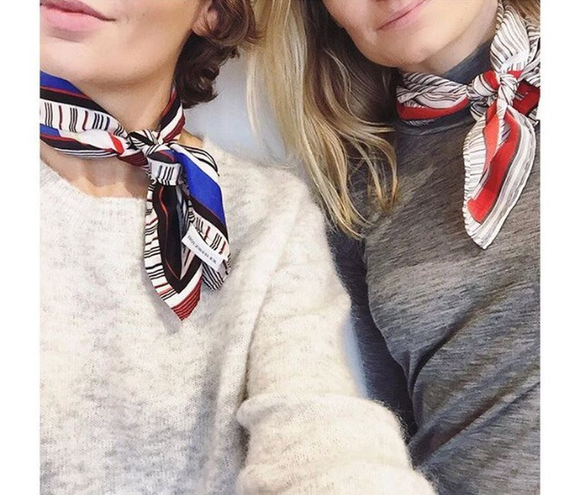 Fashionable scraves accessories ideas for cold weather 12
