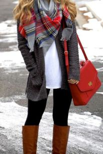Fashionable scraves accessories ideas for cold weather 18