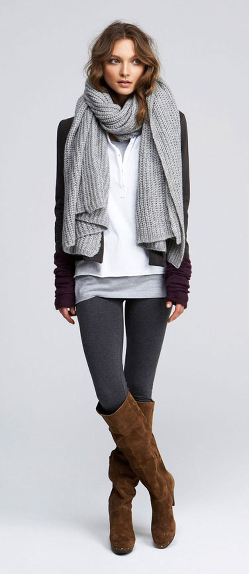 Fashionable scraves accessories ideas for cold weather 20