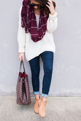 Fashionable scraves accessories ideas for cold weather 22