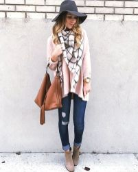 Fashionable scraves accessories ideas for cold weather 27