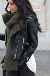 Fashionable scraves accessories ideas for cold weather 8