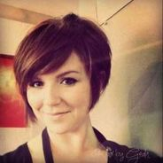Funky short pixie haircut with long bangs ideas 42