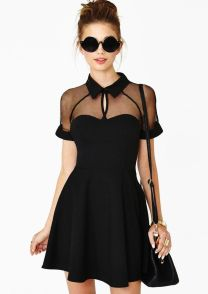 Gorgeous elegance black dress outfits 14